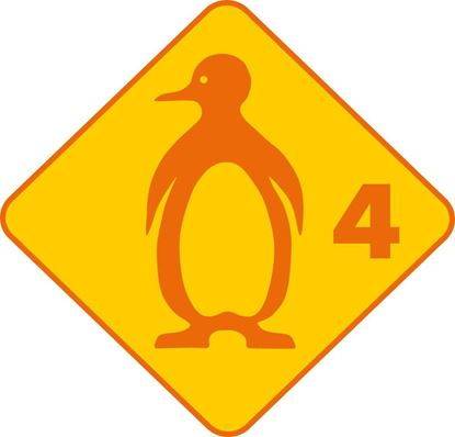 Bild von Kinderschwimmen Pinguin